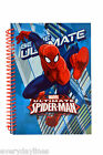 Ultimate Spider-Man - A5 Spiral Bound Hardback Notebook - 80 Double Sided Pages
