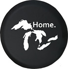 State of Michigan Great Lakes Detroit Home Edition Spare Tire Cover OEM Vinyl
