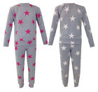 Girls Ladies Star Print Tracksuit Mother Daughter Loungewear Set Sweatshirt Top