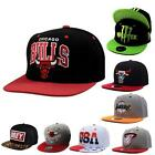 Unisex Summer Chicago Bulls HipHop Sports Snapback Retro Cap Basketball Hats