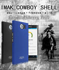BlackBerry Priv  - IMAK Genuine Cowboy Matte Hard Case Back Skin Cover Shell