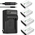 NP-45 NP-45A Li-ion Battery + Charger For Fujifilm FinePix XP60 J10 J100 EN-EL10