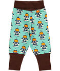BNWT Boys Maxomorra Astronaut Baby Trousers NEW Organic Cotton Pants