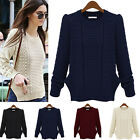 Women's Casual Long Knitwear Jumper Cardigan Coat Jacket Sweater Best Top Level