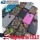 Heavy Duty Hybrid Triple Layer Camo Impact Case Cover For iPhone 4 4S 5 5S SE