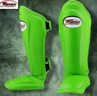 TWINS SPECIAL SHIN GUARDS PADS SGL10 GREEN MUAY THAI BOXING MMA K1 TRAINING