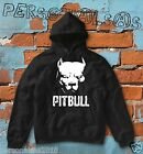 FELPA PITBULL HOODIE boxe fashion style ultras angry italian dog animal t-shirt