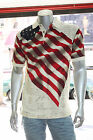 Men's American Flag BENJI Polo Shirt 100% Cotton