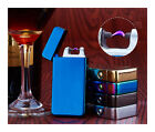 Cigarette lighter Electric Arc Windproof Rechargeable Flameless USB Lighters