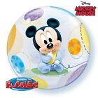 Baby Mickey Mouse Bubble Balloon Birthday Party Decoration Supplies