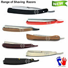 Professional Premium Straight Cut Throat Barber Shaving Knife Razors Salon New