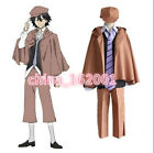 Bungo Stray Dogs Edogawa Rampo Detective Suit Cosplay Costume Full Set with Hat