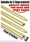 Leather Laces Leather Threading Needle Deck & Boat Shoes BRASS NEEDLES