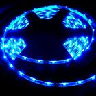 335 side-emitting blue LED strip waterproof adhesive back AC DC power adapter