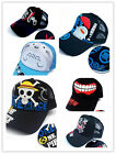 ONE PIECE/Tokyo Ghoul/Totoro/Fate/Gintama Cosplay Hat Anime Cap Gift