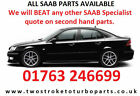 Saab 9-3 Sport Saloon Dismantling Breaking for Spare Parts and Accessories