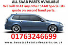 Saab 9-3 Sport Wagon Estate Dismantling Breaking for Spare Parts and Accessories