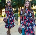SOLD OUT CELEBRITY FAV VTG FLORAL PRINTED WEDDING PARTY QUEEN SUN MAXI DRESS