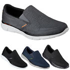 Mens New Skechers Equalizer Double Play Slip On Walking Memory Foam Trainers