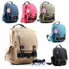 Women/Men/Unisex/ Vintage Bag Classic Backpack Casual Canvas Travel Bag