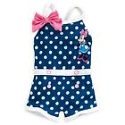 DISNEY STORE MINNIE MOUSE CUTE VINTAGE-STYLE 1-PIECE SWIMSUIT FOR BABY UPF 50+