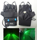 Multiple beam lasers gloves Green 532nm DJ Disco green laser glove Event  Party