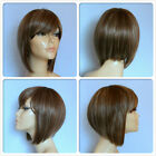 HIGH HEAT RESISTANT FIBRE SHORT LADY WIG T-0161