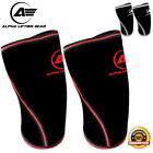Knee Sleeves Pair Powerlifting Weightlifting Support Crossfit 7mm Pain Relief