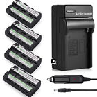 Battery & Charger for Sony NP-F550 NP-F330 NP-F570 NP-F750 NP-F960 F970 F770