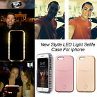 Latest Selfie LED Light Up Case for iPhone 5 SE 6 6S 7 Plus & Samsung S6 S7 Edge