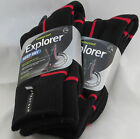 HOLEPROOF EXPLORERS KEEP DRY W/ WOOL 3 PAIRS Australian Stock Free Regular Post