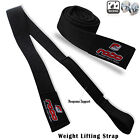 Gym Weight Lifting Hand Straps Hand Bar Wrist Support Padded Straps Black