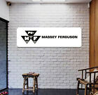 Massy Ferguson Tractor MF Banner Sign Emblem Logo Poster Gagage Workshop NEW