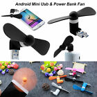 USB Portable Mini Fan Electric Cooling Mobile Power For Android Samsung LG HTC