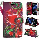 For BLU Studio Energy 2 S0090UU Hybrid PU Leather Wallet Pouch Case Flip Cover