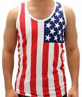 USA flagTank Top Flag colors Made in the USA Flag red Blue Blue XL or 2XL
