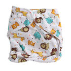 Washable Baby Waterproof Cloth Diaper Cover Cartoon Baby Diapers Reusable Nappy