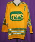 DAVE DRYDEN CHICAGO COUGARS WHA RETRO HOCKEY JERSEY SEWN NEW ANY SIZE XS 5XL