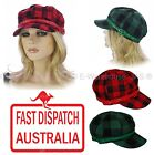 Newsboy Bakerboy Check Checked Scottish Tartan Plaid St Patrick's Day  Hat Cap