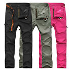 Women Anti-UV Quick Dry Breathable Wicking Long Pants For Outdoor Hiking Camping