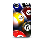 Hot New BILLIARD POOL BALLS iphone 4 4s, 5 5s, 5c, 6, galaxy S3, S4 case cover