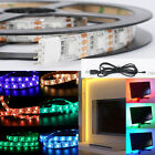 color changing led lighting - WOW - 5V 5050 RGB LED Strip Light Color Changing USB TV PC Back Mood Lighting