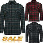 MENS BOYS POLLYCOTTON SMART WORK OFFICE BUSSINESS CASUAL LONG SLEEVE CHECK SHIRT