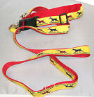 Dog Ink NEW US Made Leash/Collar Set Doberman Pinscher