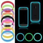 Soft Silicone Fluorescent Bracelet Bumper Case Cover For Universal Cellphone New