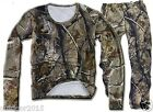 Autumn Bionic Camouflage Clothing Bow Sniiper Hunting Tshirt / Pants / Cap