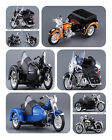 1:18 MAISTO HARLEY DAVIDSON FL FLH HYDRA GLIDE W SIDE MODEL CAR MOTORCYCLE TOY $23.59 USD on eBay
