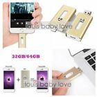 i-Flash Device 32/64/128GB Dual USB OTG Memory Drive For Apple iOS iPhone iPad