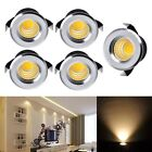 5x 3W LED Recessed Small Cabinet Mini Spot Lamp Ceiling Downlight Kit Fixture