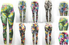 US SELLER Women Colorful GalaxyPrint Leggings Stretchy Sexy Jeggings PencilPants